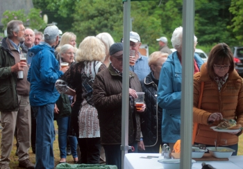 A great hog roast and a drink to celebrate